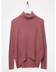 Sonder Studio zip detail roll neck knit
