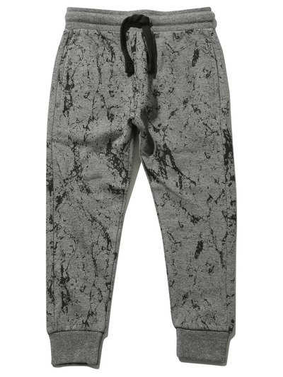 Marble print joggers (3 - 12 yrs)