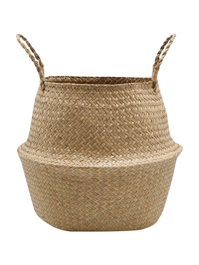 Medium natural woven basket