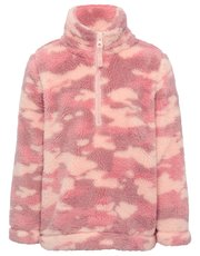 Half zip camouflage fleece
