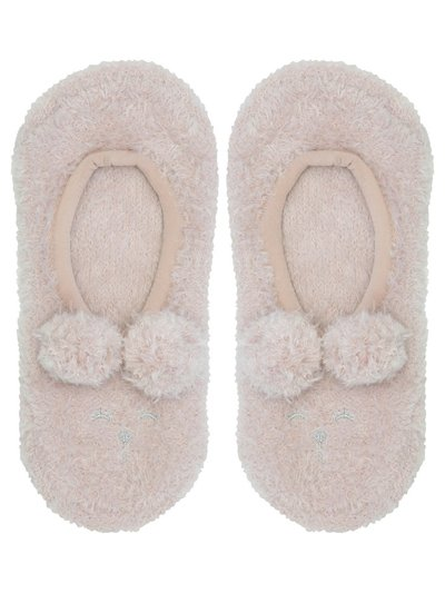 Fluffy footsie slippers