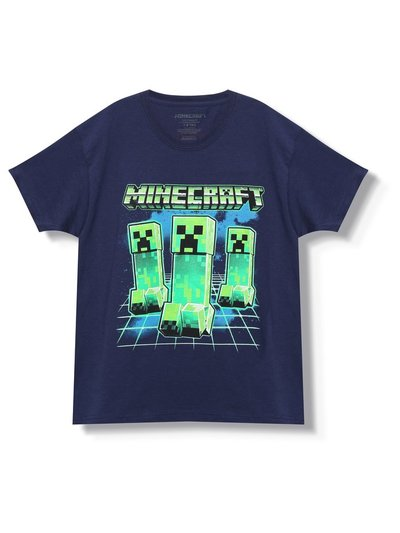 Creeper Minecraft t-shirt (3-13yrs)