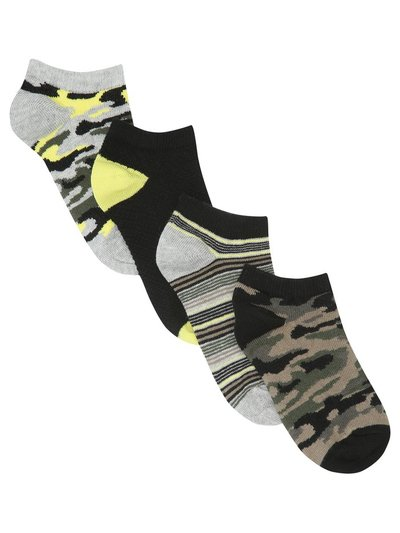 Camo trainer socks four pack