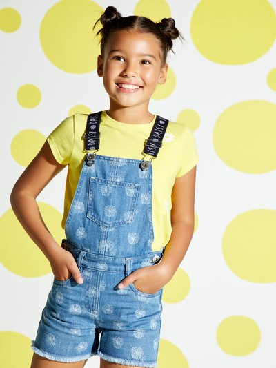 Daisy denim dungarees (3-12yrs)