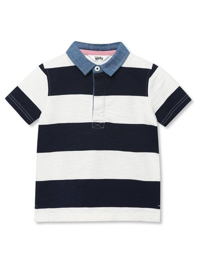 Stripe rugby top (9mths-5yrs)