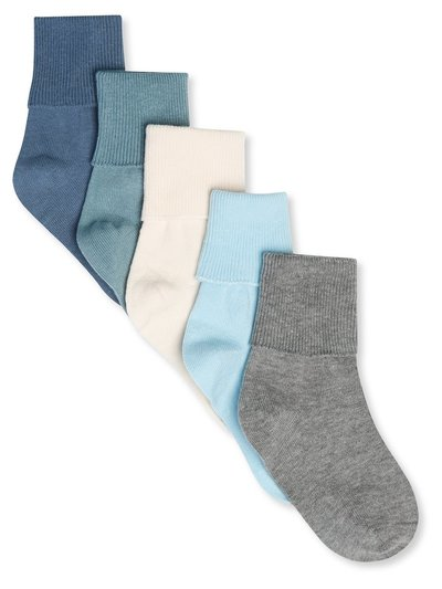 Ribbed socks five pack (0-24mths)
