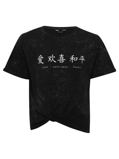 Chinese Symbol for Love Pink Kids T-Shirt