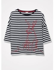 Khost Clothing stripe bunny top