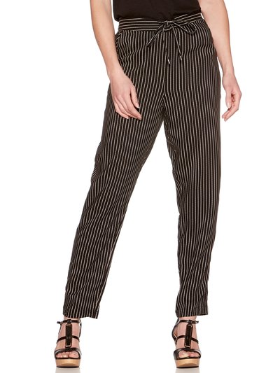 Stripe jogger trousers