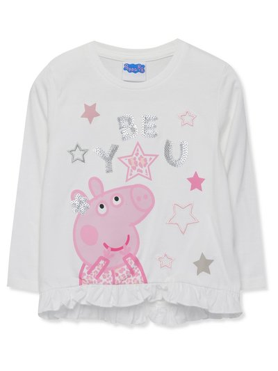 Peppa Pig sequin top (18mths-5yrs)