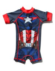 Captain America sunsafe swimsuit (2 - 5 yrs)