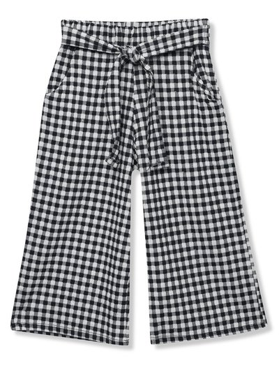 Gingham culottes (3-12yrs)