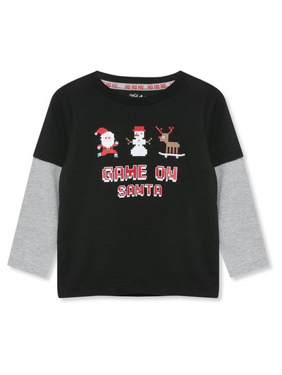 Game on Santa t-shirt (3-11yrs)