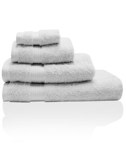 Silver Combed Cotton Towels
