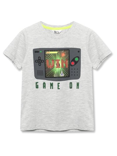 Holographic gamer t-shirt (3-12yrs)