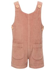 Cord pocket playsuit