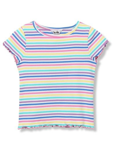 Lettuce hem rainbow t-shirt (9mths-5yrs)