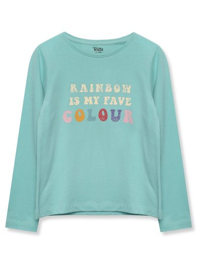 Long sleeve rainbow t-shirt (3-12yrs)