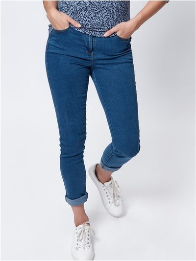 Slim leg super soft jeans