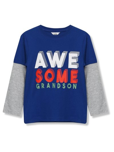 Awesome grandson t-shirt (9mths-5yrs)