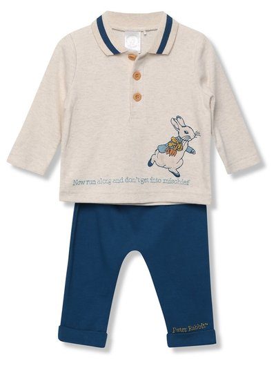 Peter Rabbit top and joggers set (Newborn - 24 mths)
