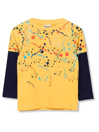 Splatter print t-shirt (9mths-5yrs)