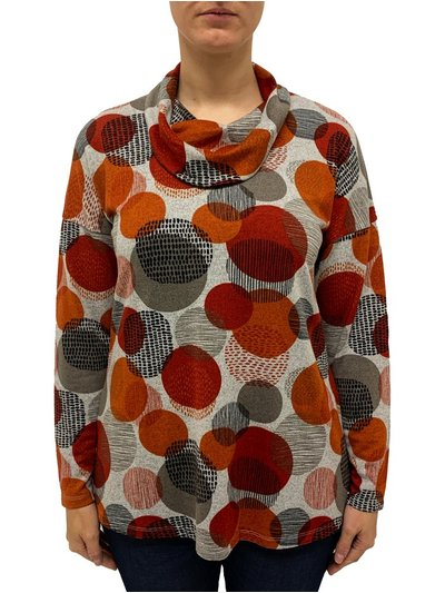 TIGI cowl circle neck tunic