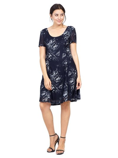 Izabel Curve floral print tea dress
