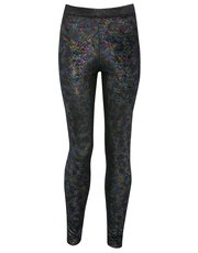Teen's shimmer rainbow leggings