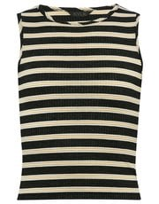 Teen ribbed striped t-shirt