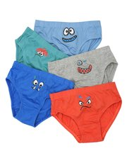 Monster briefs five pack (2 - 10 yrs)