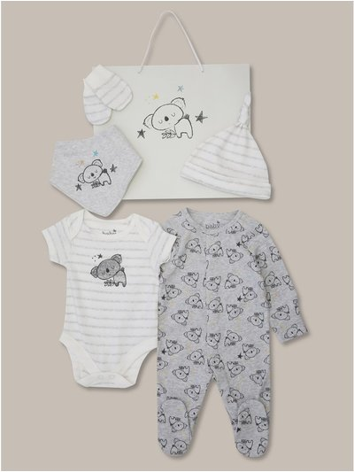 Koala six piece starter set (tiny baby-18mths)