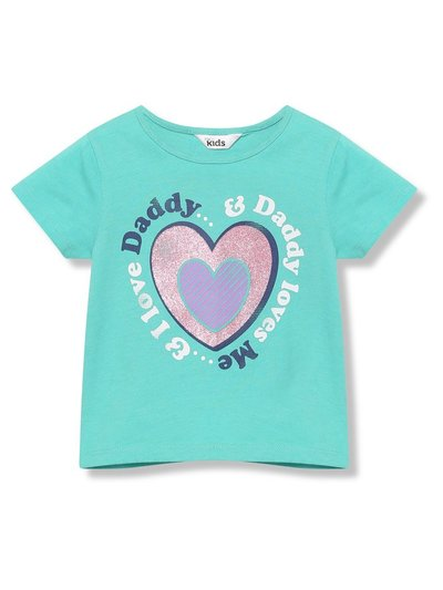 I love daddy slogan t-shirt (9mths-5yrs)
