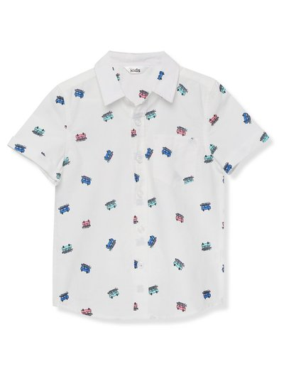 Campervan print shirt (3-12yrs)