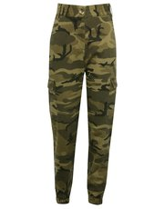 Teen camouflage utility trousers