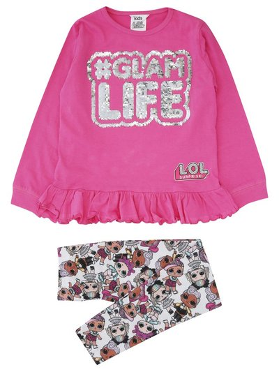 Lol Surprise two way sequin pyjamas (4-9yrs)