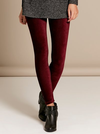 Cord leggings