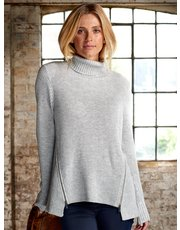 Sonder Studio zip roll neck jumper