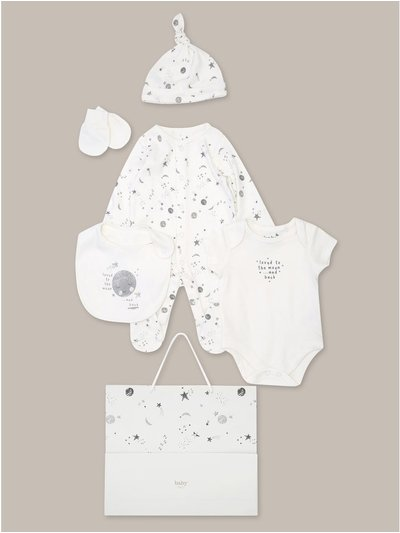Moon 6 piece starter set (Tiny baby-18mths)