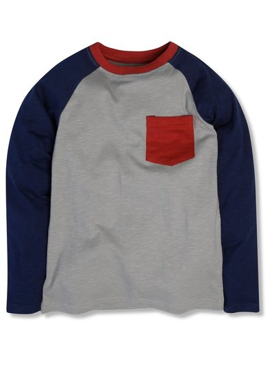 Colour block tee (3-12yrs)