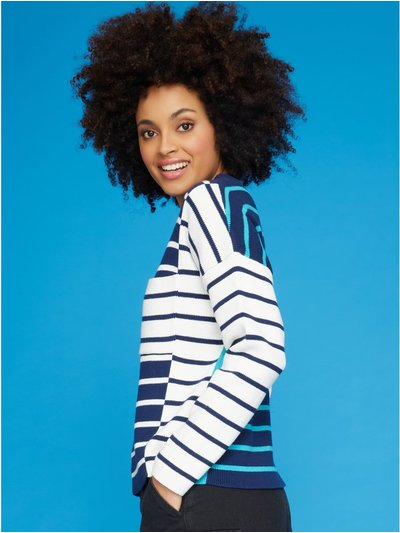 Khost Clothing contrast stripe jumper