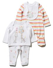 Giraffe stripe four piece starter set