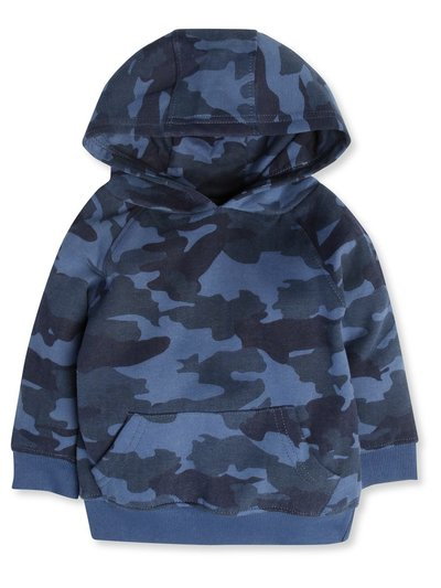 Camouflage hoodie (9mths-5yrs)