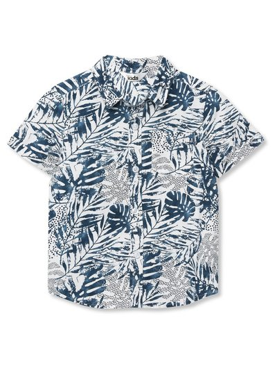 Hawaiian print shirt (3-12yrs)