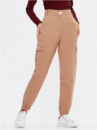 Teen utility combat trousers