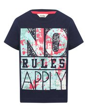 No rules apply slogan t-shirt