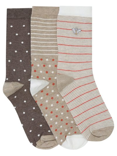 Bee socks three pair pack