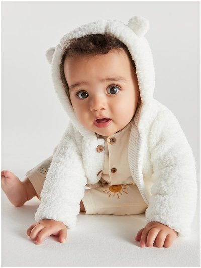Hooded fleece (newborn - 18mths)