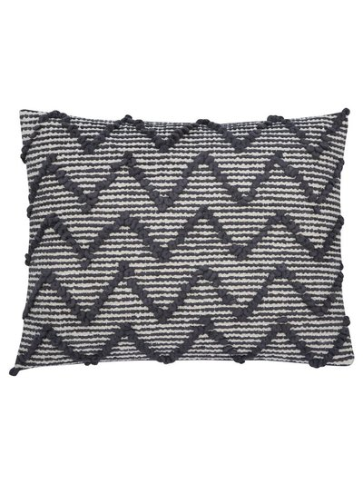 Rectangular chevron cushion