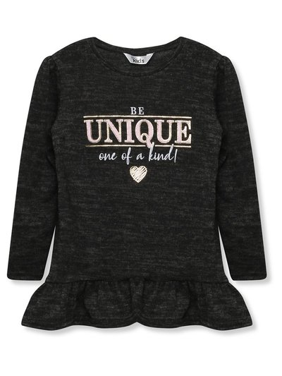 Be unique slogan top (9mths-5yrs)